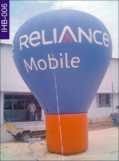 Reliance Mobile Conical Inflatable