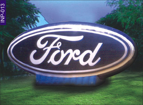 Ford Logo Shape Inflatable