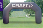 Craft Inflatable Arch, click here to see large picture.