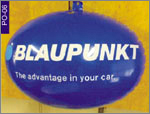 Blaupunkt Product Shape Inflatable, click here to see large picture.