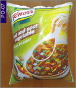 Knorr Soup Product Pouch, click here to see large picture.