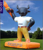 Basava Cow Inflatable , click here to see large picture.