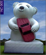 Lustra Bear with Car, click here to see large picture.