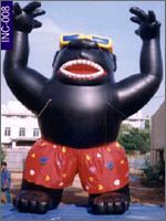 Gorilla with Shorts and Glasses, click here to see large picture.