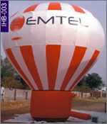 Emtel Concical Inflatable, click here to see large picture.