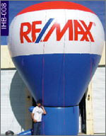 Remax Conical Inflatable, click here to see large picture.