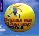 ChampionShip Round Balloon, click here to see large picture.