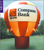 Compass Bank Inflatable, click here to see large picture.