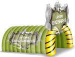 Sport Inflatable Tunnel, click here to see large picture.